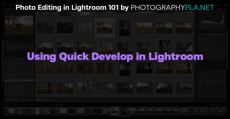 lightroom develop module tutorial