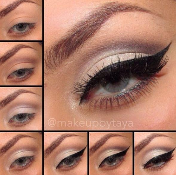 cute makeup tutorial for brown eyes