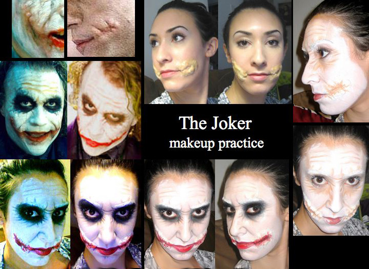joker makeup tutorial heath ledger
