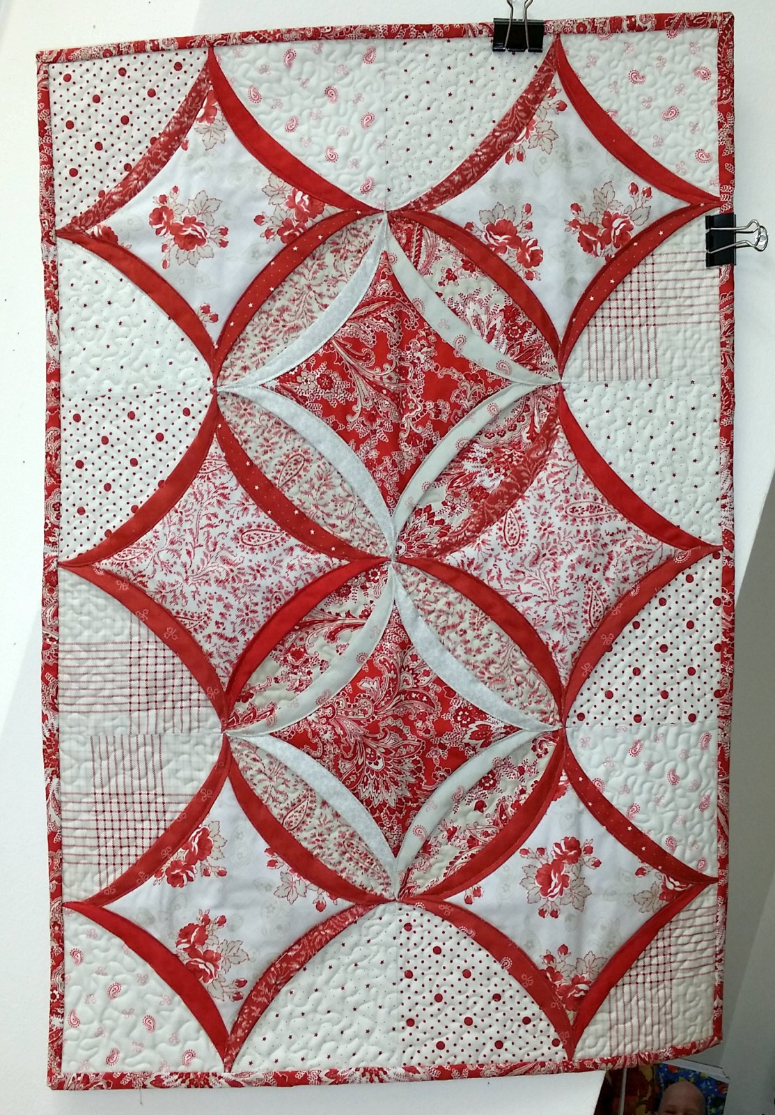 easy cathedral window quilt tutorial