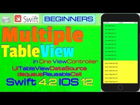 ios tutorial swift 4