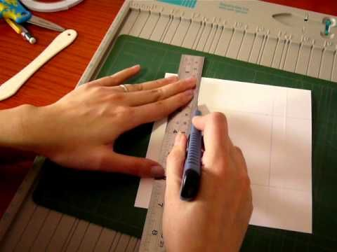 center step card tutorial
