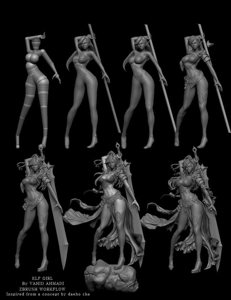 character concept art tutorial