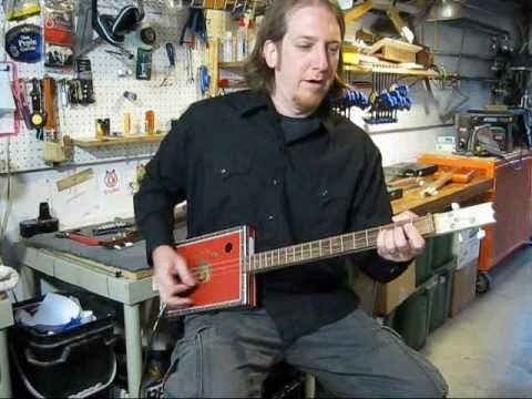cigar box guitar tutorial