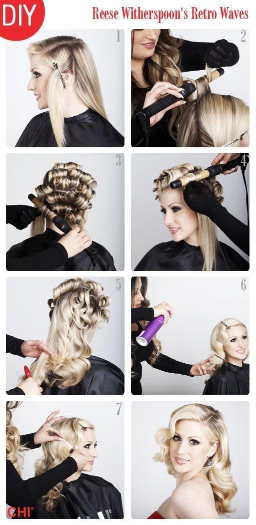 classic hollywood hair tutorial