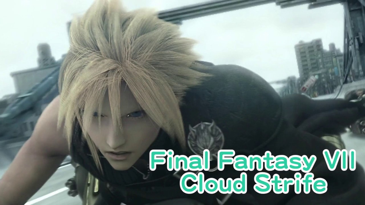cloud strife cosplay tutorial