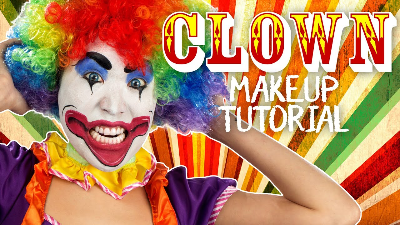 clown makeup tutorial youtube