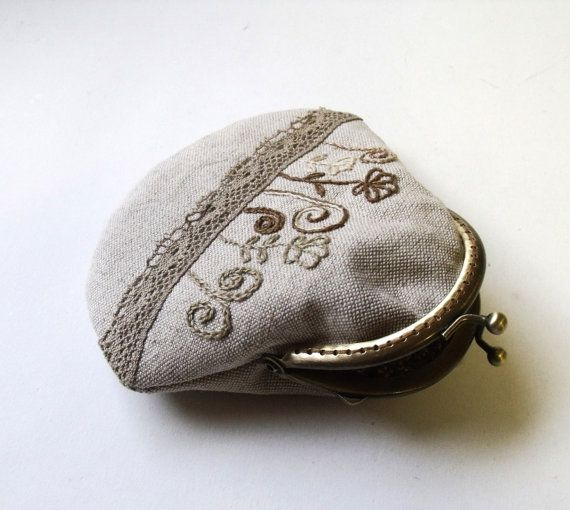 coin purse tutorial metal frame