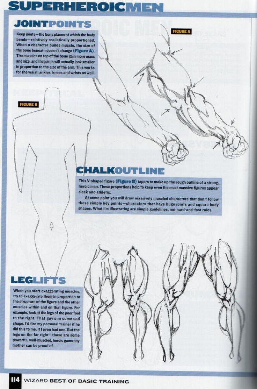 comic book character drawing tutorial