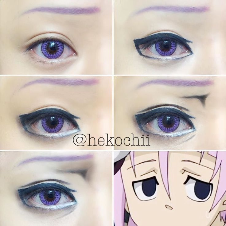 cosplay eye makeup tutorial