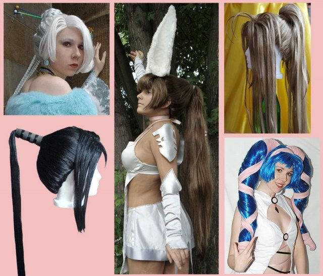 cosplay wig styling tutorial