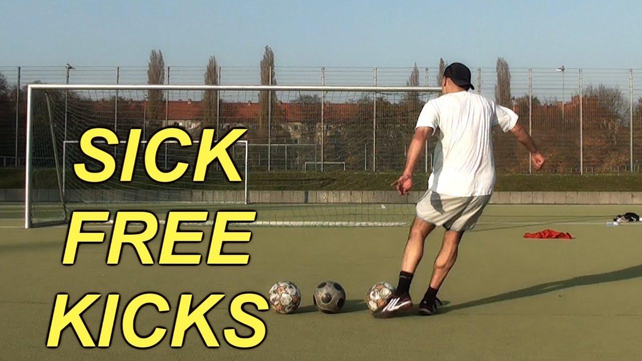 cristiano ronaldo knuckleball free kick tutorial
