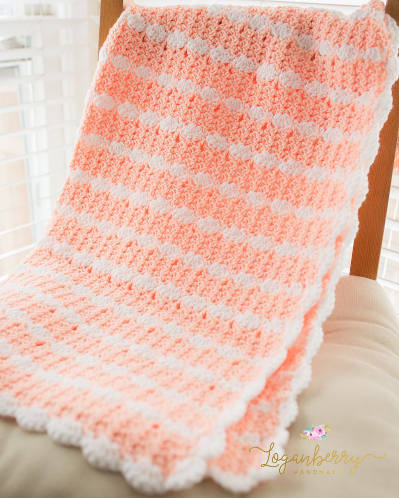 crochet baby blanket tutorial