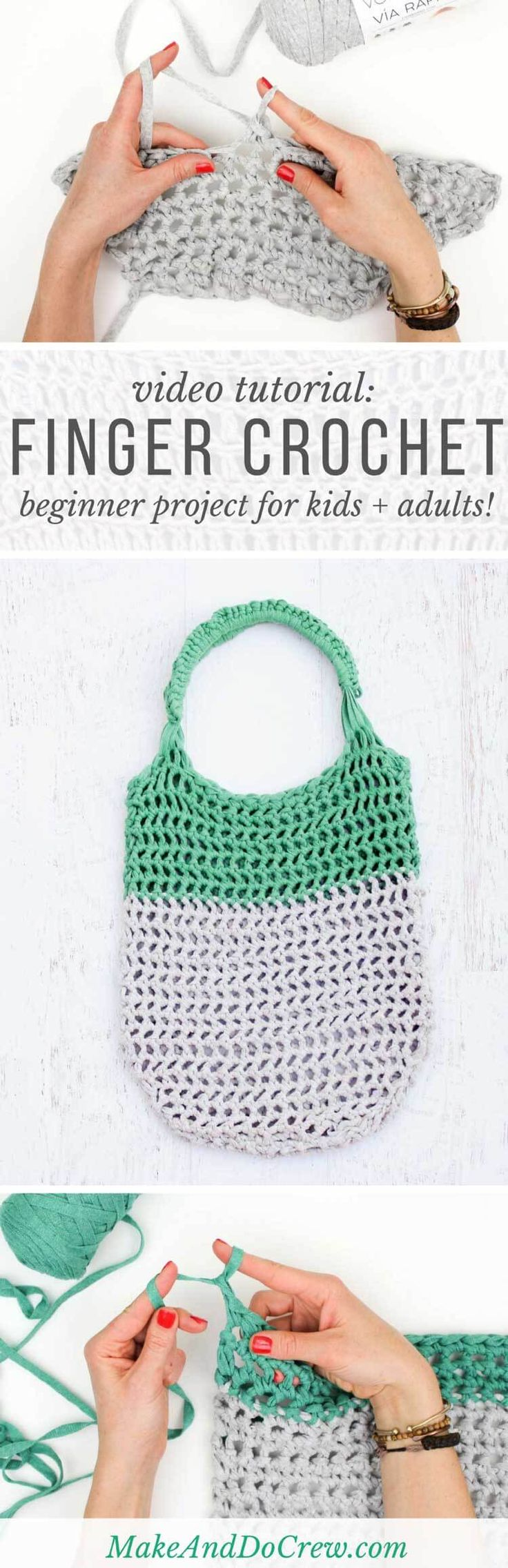 crochet bag tutorial video download