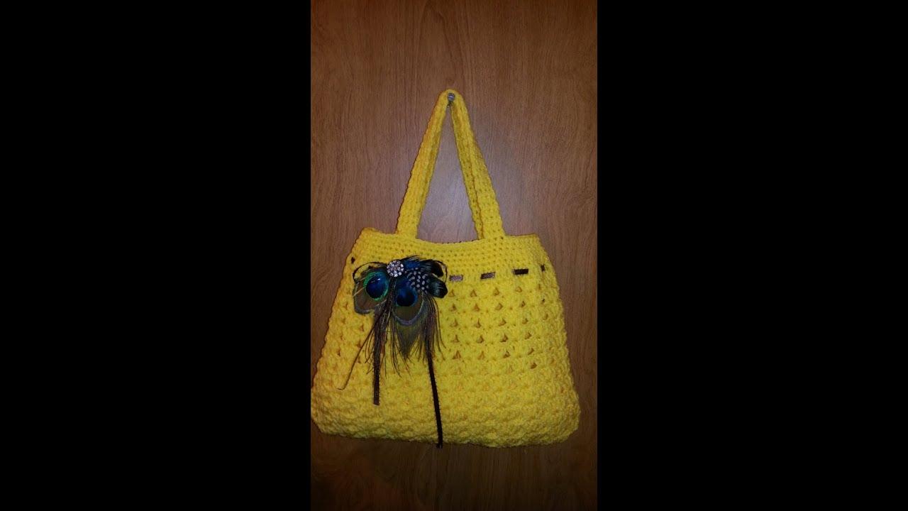 crochet bag tutorial youtube