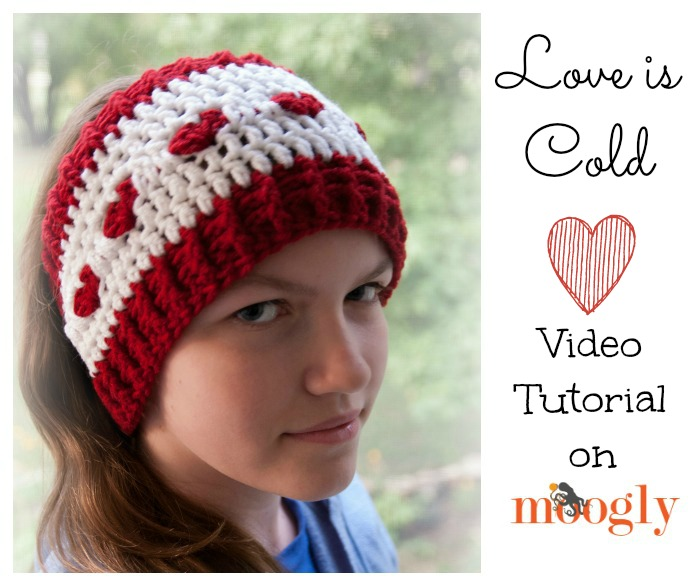 crochet ear warmer tutorial