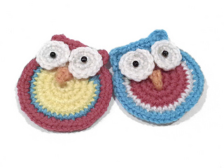 crochet owl applique tutorial