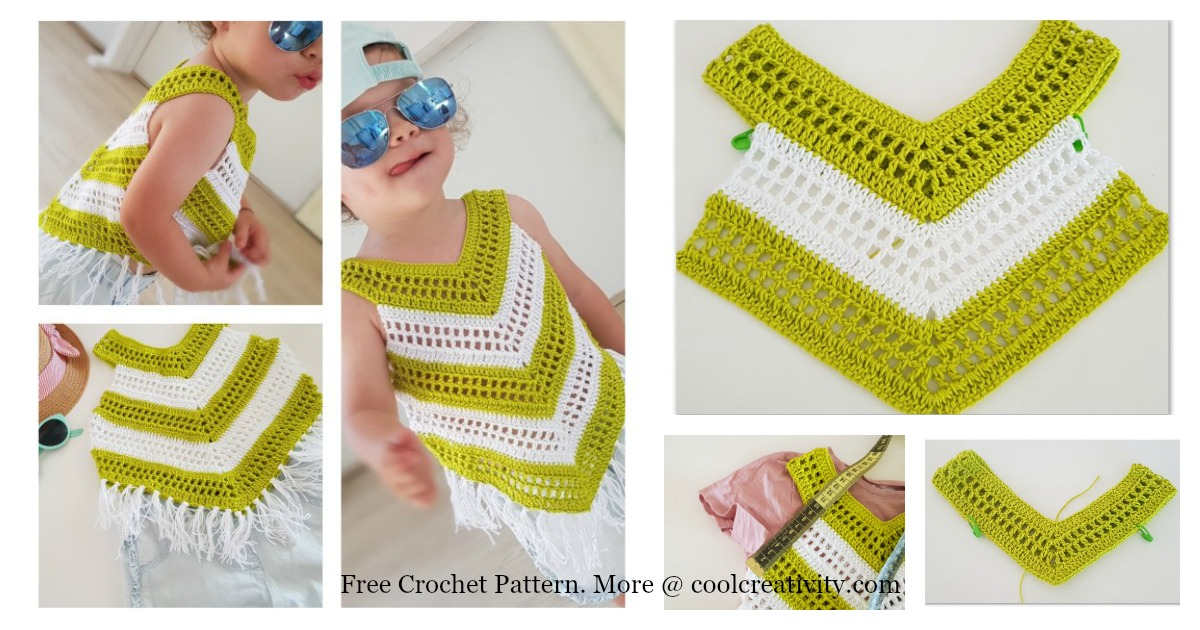 crochet summer tops tutorial