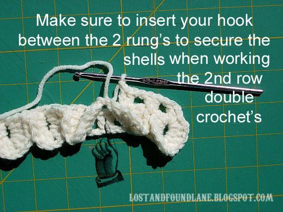 crocodile stitch booties tutorial