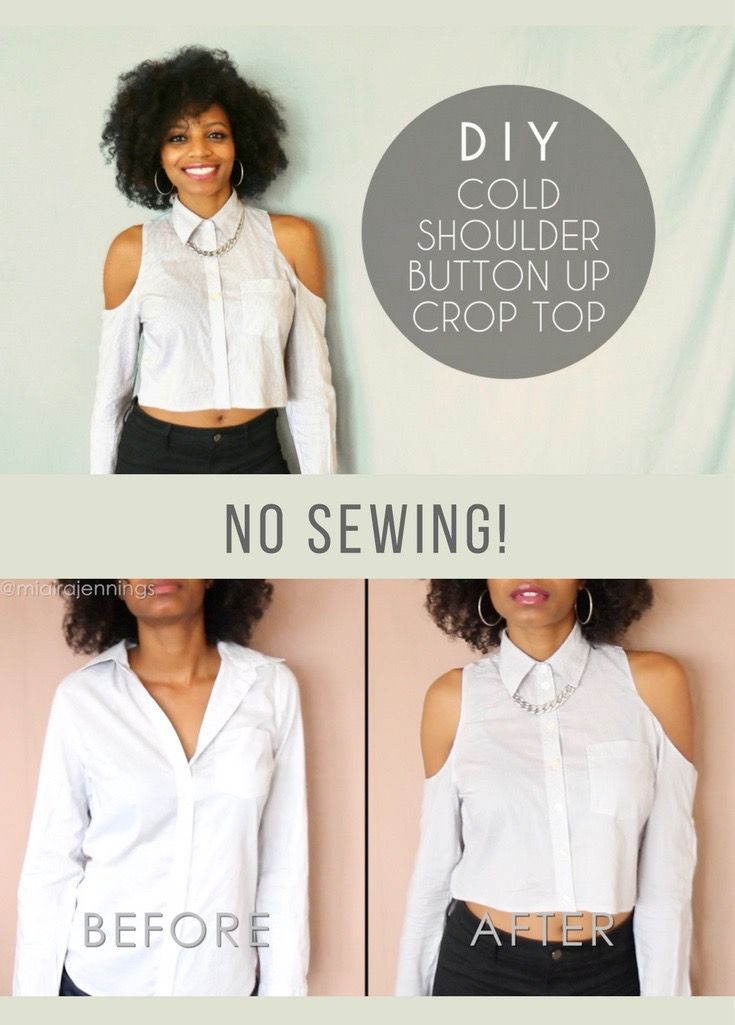 crop top sewing tutorial