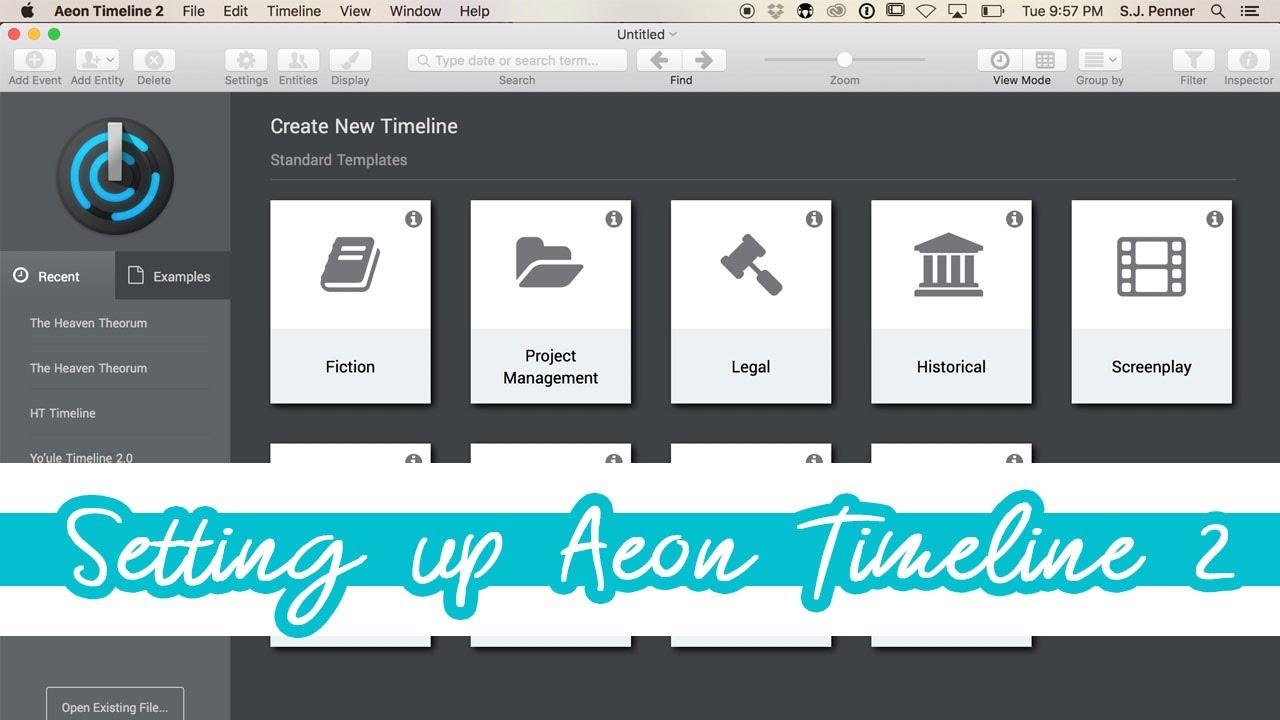 aeon timeline 2 tutorial