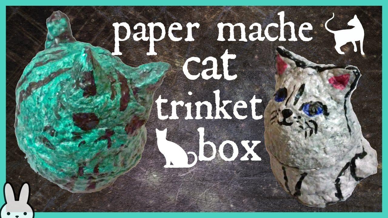 paper mache cat tutorial