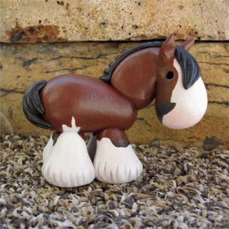 polymer clay horse tutorial