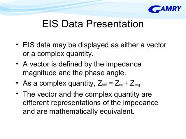 electrochemical impedance spectroscopy tutorial