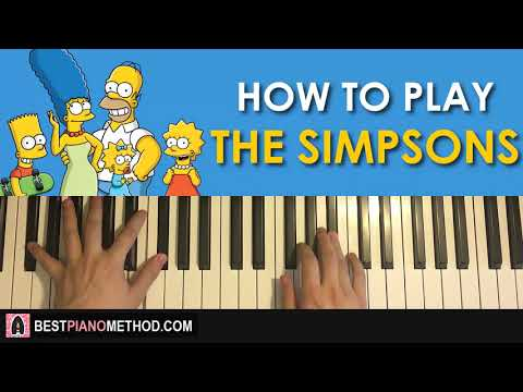 simpsons theme song piano tutorial