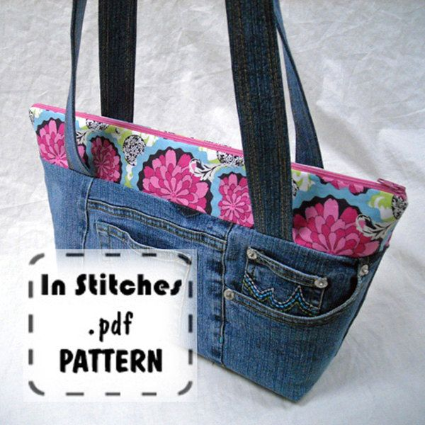 tote bag tutorial with zipper