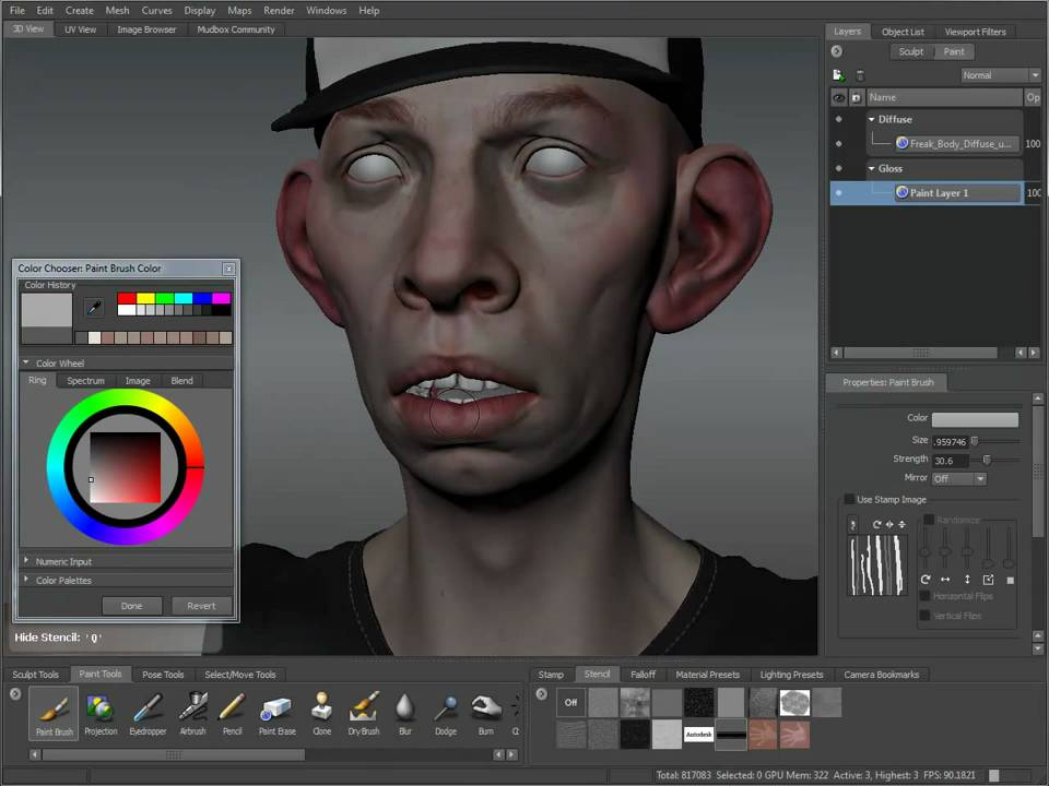 sub surface skin tutorial