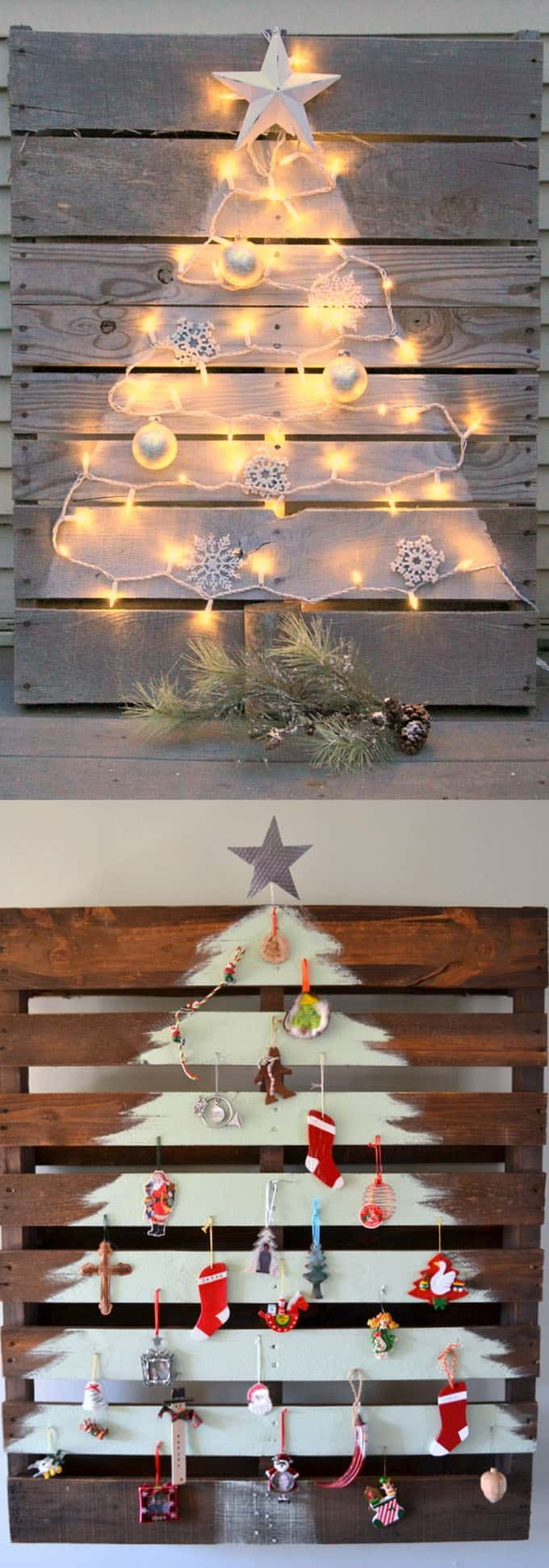 pallet christmas tree tutorial