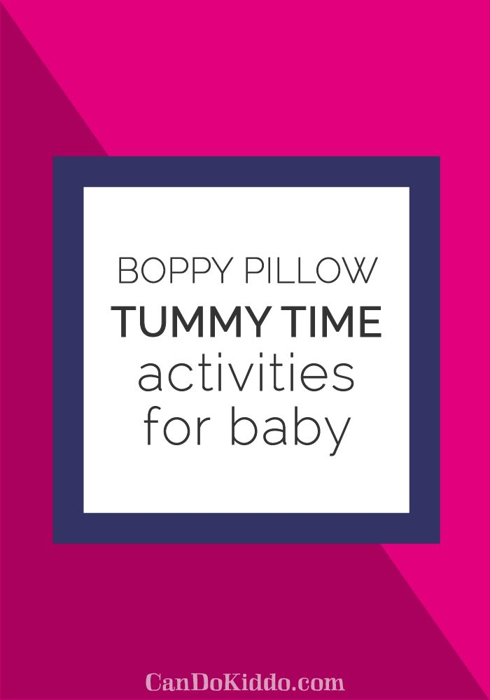 tummy time pillow tutorial