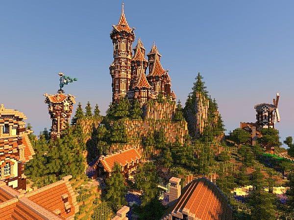 medieval castle minecraft tutorial