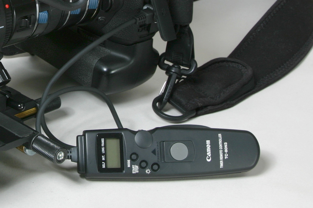 canon timer remote controller tc 80n3 tutorial
