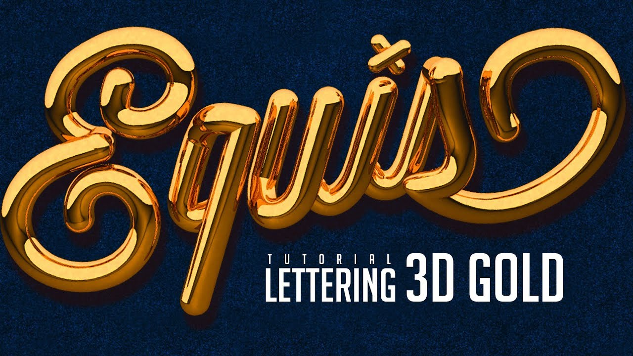 3d text illustrator tutorial