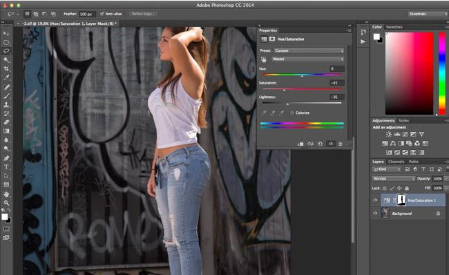 adobe photoshop masking tutorial