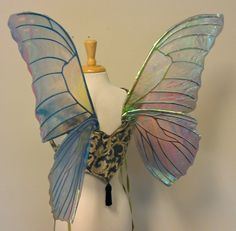 diy fairy wings tutorial