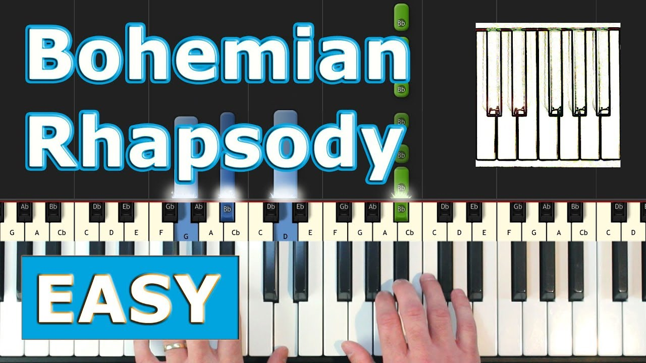 bohemian rhapsody keyboard tutorial