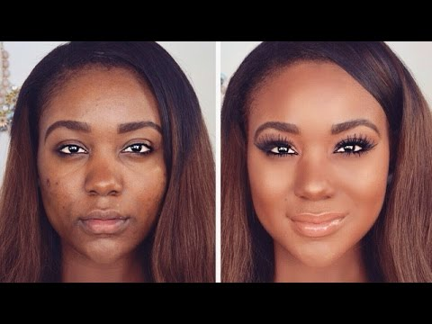 flawless makeup tutorial for brown skin