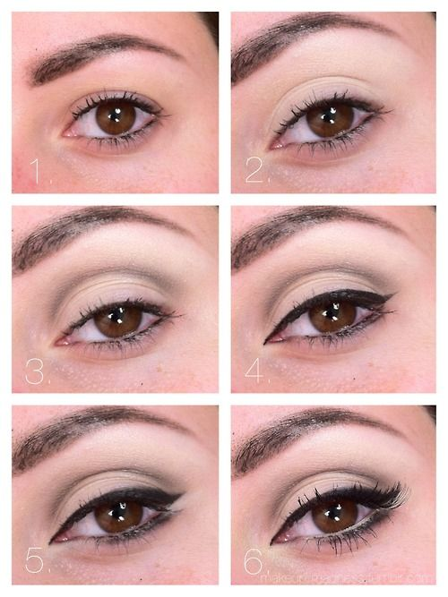 natural green eye makeup tutorial