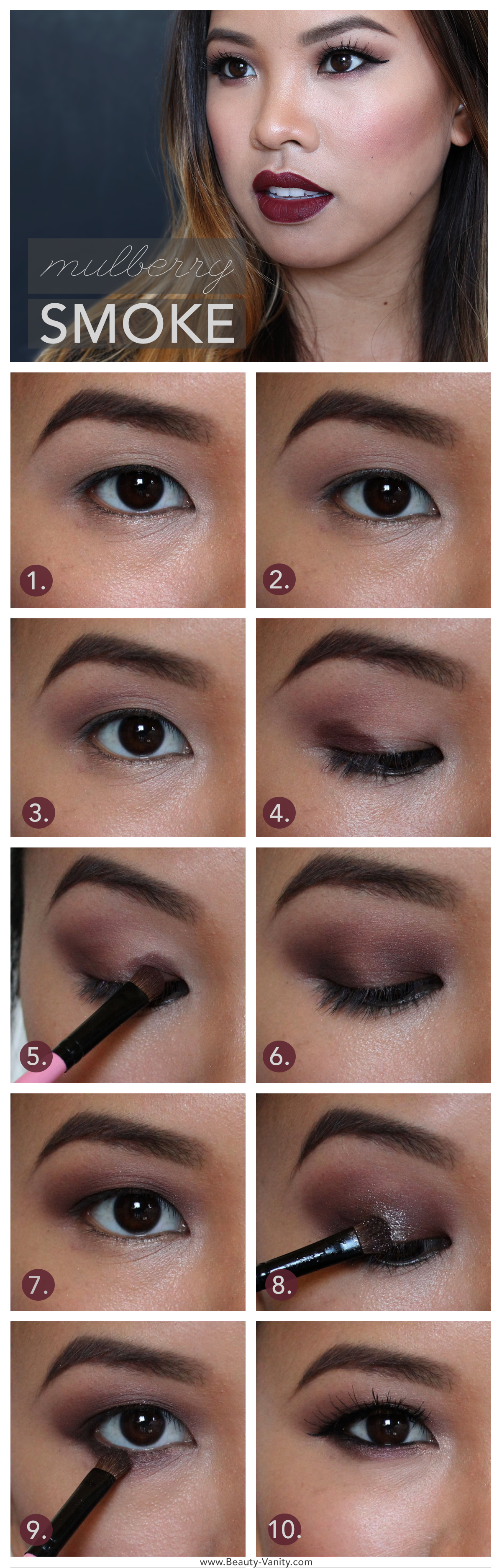 dark smokey eye makeup tutorial