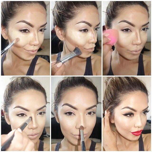 lipstick tutorial step by step