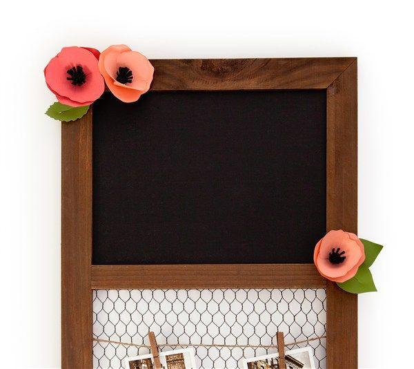 cricut 3d floral home decor tutorial