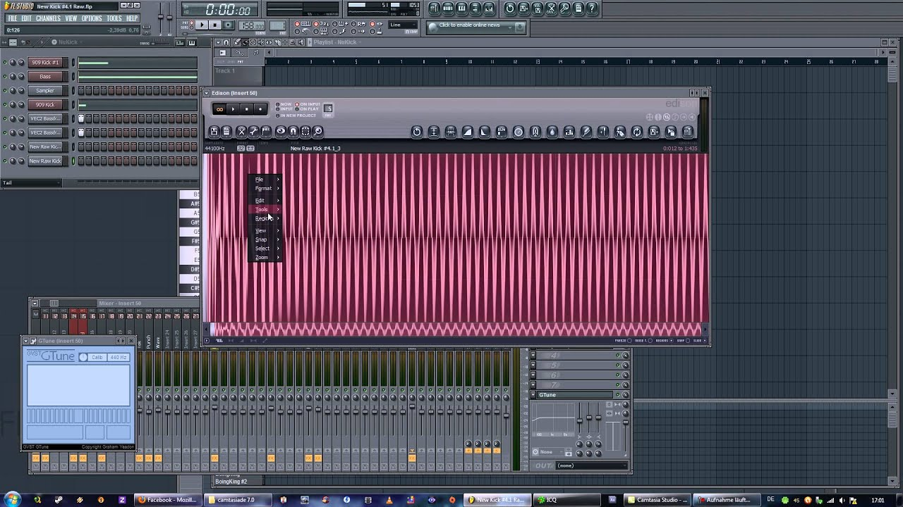 hardstyle kick fl studio tutorial