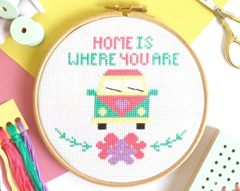cross stitch tutorial for beginners