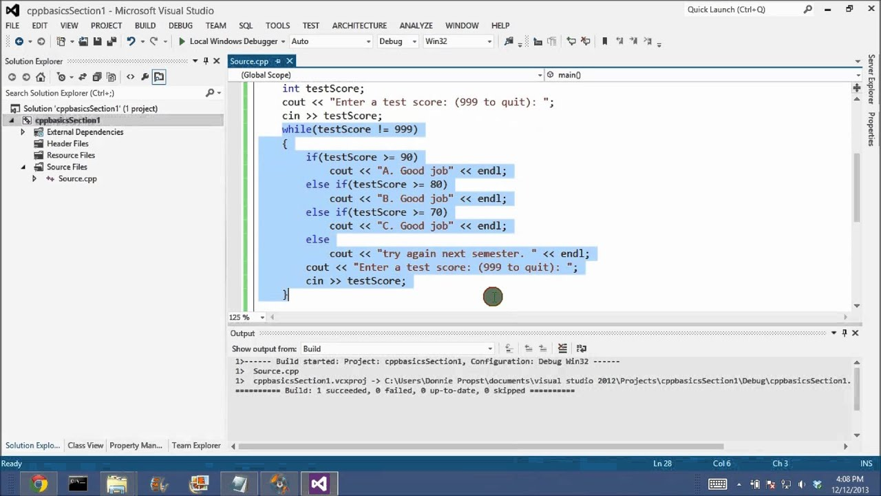 visual studio 2005 tutorial for beginners