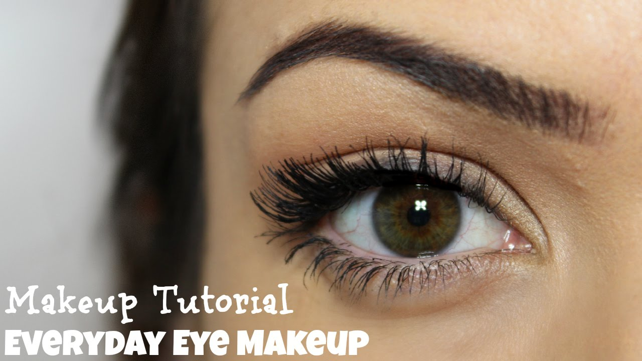 eyeshadow for hazel eyes tutorial