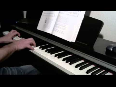 des ree kissing you piano tutorial