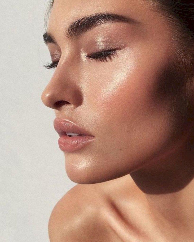 dewy face makeup tutorial